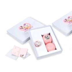 Mickey and Minnie Pacifier Set