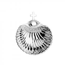 Silver Plated Christening Shell