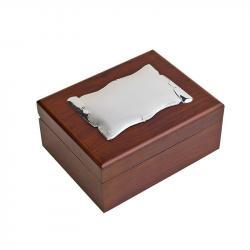 Caja Madera con Pergamino