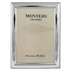 Bilaminated Silver Photo Frame