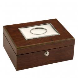 Bilaminated Silver Box