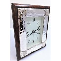 Sterling Silver Clock