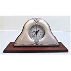 Reloj Despertador Bilaminado Plata