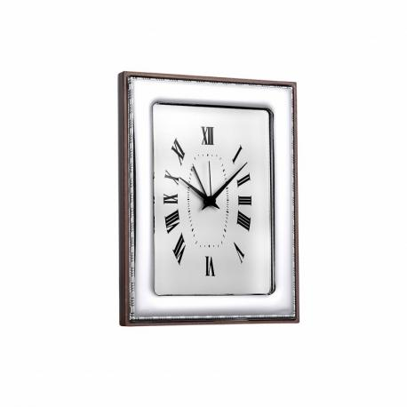 Silver Plated Clock