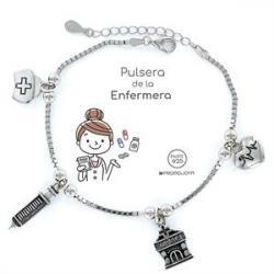 Pulsera Plata ENFERMERA