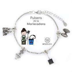 Pulsera Plata MARISCADORA