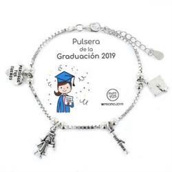 Pulsera Plata GRADUACION 2019