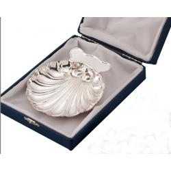 Silver Baptism Shell