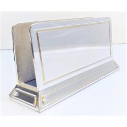 Silver Desk Gift