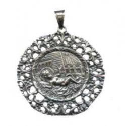 Medalla Cuna Plata Niño Jesus