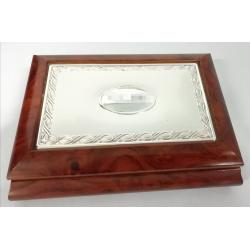 Bilaminated Silver Jewel Box