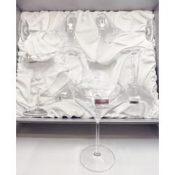 Cocktail Martini Crystal Set