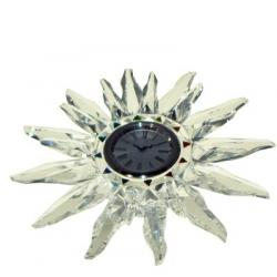 Solaris table clock Swarovski