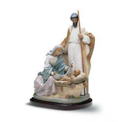 Jesús, María y José - Figura Lladró