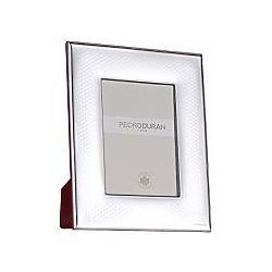 Bilaminated Silver Photo Frame