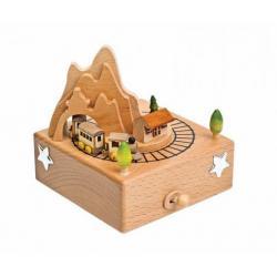 Babies Carousel Music Box