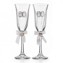 Anniversary Cristal Flutes