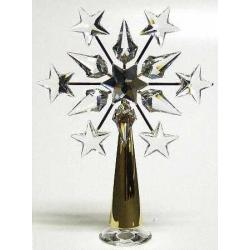 GOLD STAR TREE TOPPER Swarovski