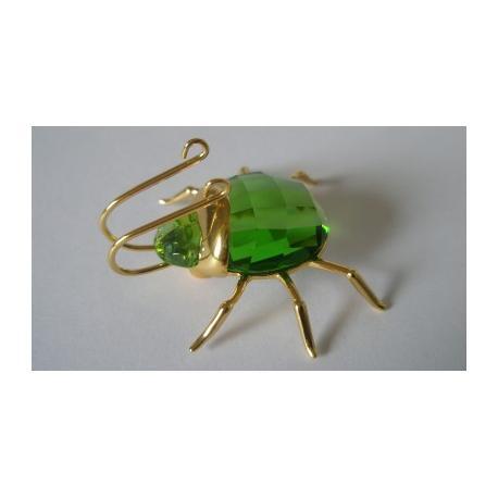 Small Aranos Peridot Beetle Swarovski -241524-SWAROVSKI-www.monteroregalos.com-
