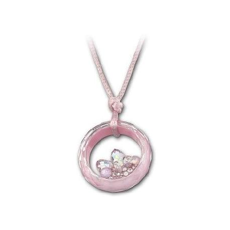 Athena Pink Pendant -1046079-SWAROVSKI-www.monteroregalos.com-