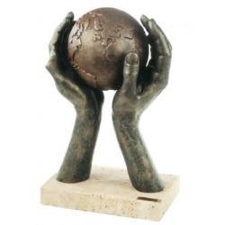 Figura El mundo en tus manos - Edición Limitada
