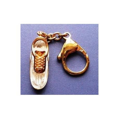 Tennis Shoe Keyring Swarovski -191633-SWAROVSKI-www.monteroregalos.com-