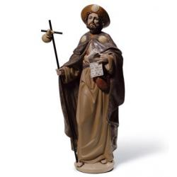 Saint James The Pilgrim-01012542-LLADRO-www.monteroregalos.com-