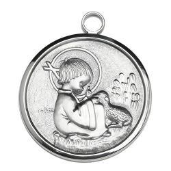 Medalla Cuna Plata Primera Comunion-6020C5