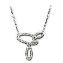 CURL NECKLACE Swarovski