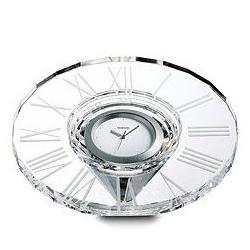 Helios Table Clock Swarovski