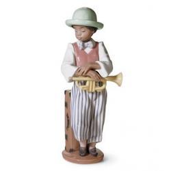 Trompetista de Jazz - Figura Lladró