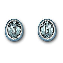Neptune Indian Sapphire Pierced Earrings -1076300-SWAROVSKI-www.monteroregalos.com-
