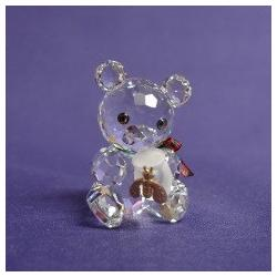 KRIS BEAR WITH HONEY POT Swarovski