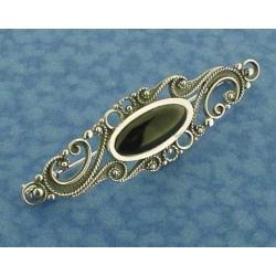 Azabache - Silver Pendant