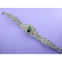 Azabache - Silver Bracelet