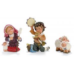 Pastores con ovejas - Pequeños Tesoros Nadal