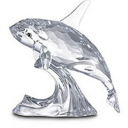 Orca Whale Swarovski