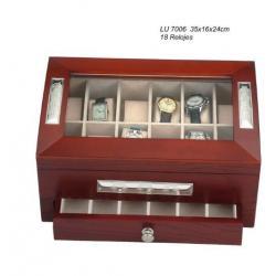 Caja 18 Relojes con Cajon