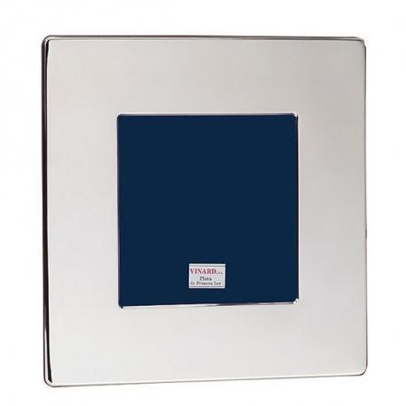 Espejo plata cuadrado liso 00860 en for Espejos cuadrados grandes