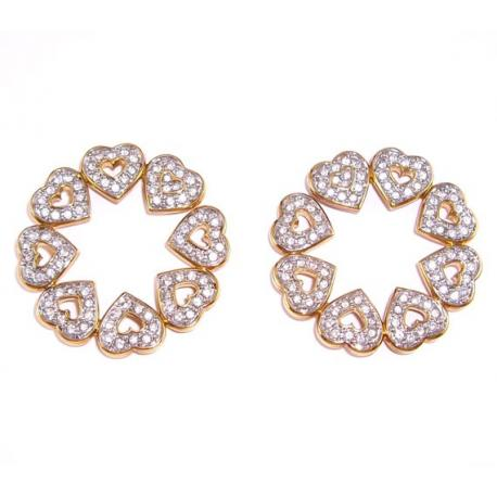 Heart Earrings Swarovski -1791005-SWAROVSKI-www.monteroregalos.com-