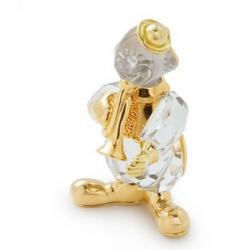 Trumpet Clown Brooch Swarovski