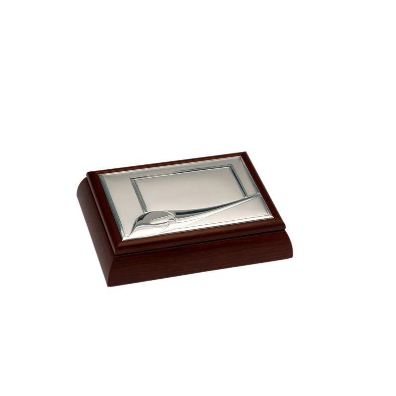 Caja madera y plata cala lu7369 - Caja de luz de madera ...