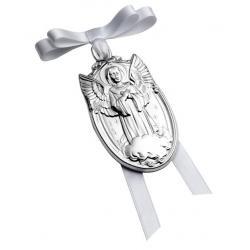 Medalla de Cuna Ángel con Nubes
