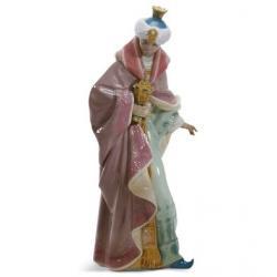 Rey Baltasar Nacimiento - Figura Lladró