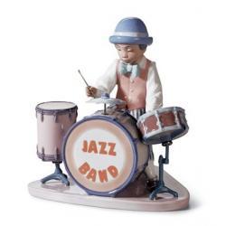 Batería de Jazz - Figura Lladró