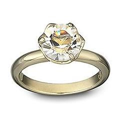 Harlequin Gold Ring Swarovski