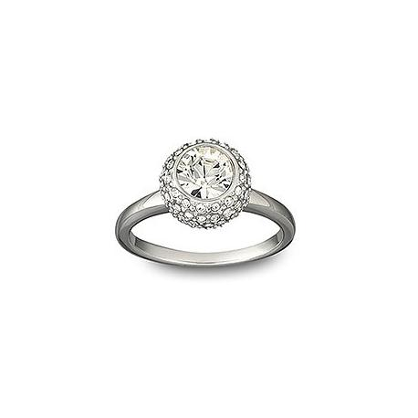 Flirt Rhodium Ring Swarovski -1024248-SWAROVSKI-www.monteroregalos.com-