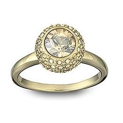 Flirt Gold Ring Swarovski