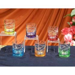 Color Cool Crystal Glass