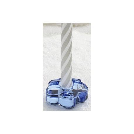 Candelero Flor Light Sapphire -296261